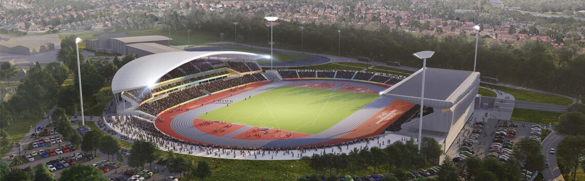 McLaughlin & Harvey - Alexander Stadium Redevelopment